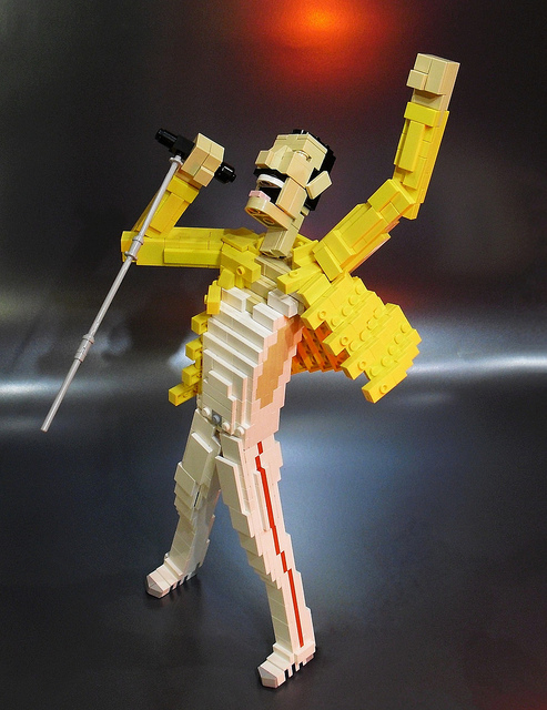 Because It's Monday, You Need a Lego Freddy Mercury