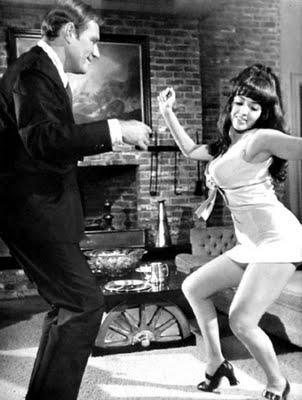 twist-and-shake go go dancer 60s