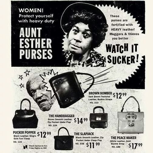 Aunt Esther purse